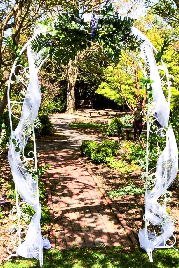 Mountain Mama Florals Wedding Ceremony Greenery Arch